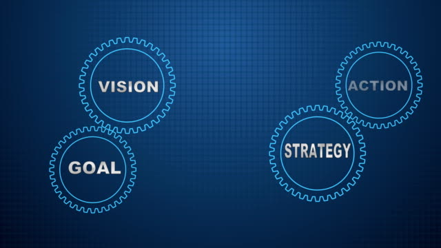 ギア研究、提案、開発、イノベーション、成功 - 歯車の歯点の映像素材/bロール