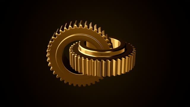 gear wheel abstract background - clockworks stock videos & royalty-free footage