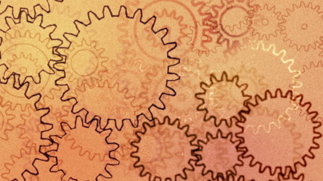 Gears, abstract background
