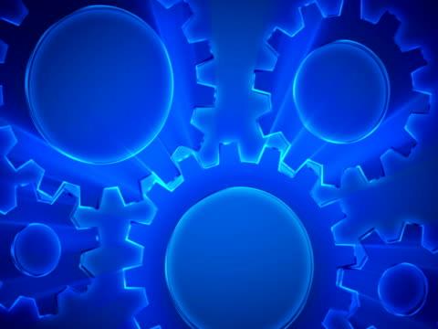 gears in motion - interlocked stock videos & royalty-free footage