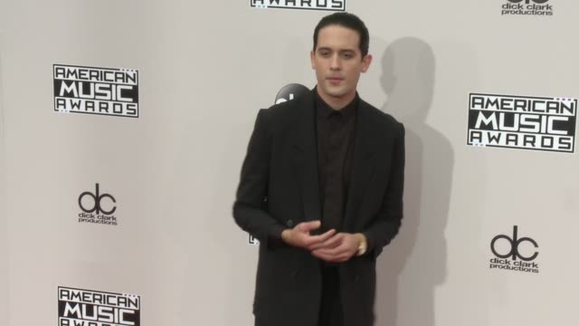 geazy at 2016 american music awards at microsoft theater on november 20 2016 in los angeles california - 2016 american music awards stock videos and b-roll footage