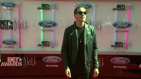 stockvideo's en b-roll-footage met eazy at the 2014 bet awards on june 29, 2014 in los angeles, california. - black entertainment television