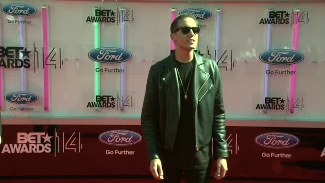 geazy at the 2014 bet awards on june 29 2014 in los angeles california - bet awards stock videos and b-roll footage