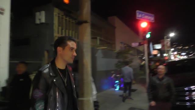 GEazy leaves Poppy in West Hollywood in Celebrity Sightings in Los Angeles