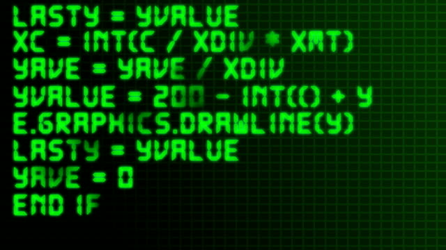 geeky source code - liquid crystal display stock videos & royalty-free footage