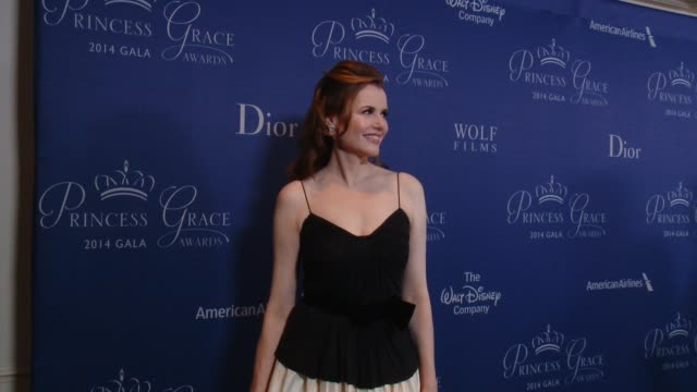 geena davis at 2014 princess grace awards gala with presenting sponsor christian dior couture in los angeles ca - geena davis stock videos & royalty-free footage