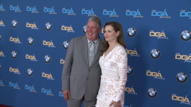 geena davis at 68th annual directors guild of america awards in los angeles ca - geena davis stock videos & royalty-free footage