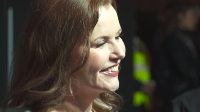 geena davis at british film institute luminous fundraising gala at the guildhall on october 06 2015 in london england - geena davis stock videos & royalty-free footage