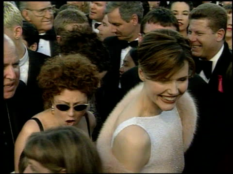 Geena Davis at the 1998 Academy Awards Arrivals at the Shrine Auditorium in Los Angeles California on March 23 1998