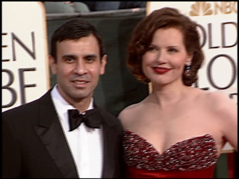 geena davis at the 2006 golden globe awards at the beverly hilton in beverly hills, california on january 16, 2006. - ジーナ デイヴィス点の映像素材/bロール
