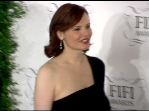 Geena Davis at the 34th Annual Fifi Awards Presented by the Fragrance Foundation at the Hammerstein Ballroom in New York New York on April 3 2006