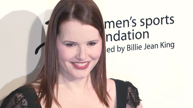 geena davis at the billies at the international ballroom at the beverly hilton in beverly hills california on april 11 2007 - geena davis stock videos & royalty-free footage