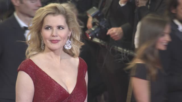 Geena Davis at 'The Nice Guys' Red Carpet at Palais des Festivals on May 15 2016 in Cannes France