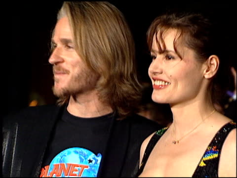 geena davis at the planet hollywood entrances on september 17 1995 - geena davis stock videos & royalty-free footage