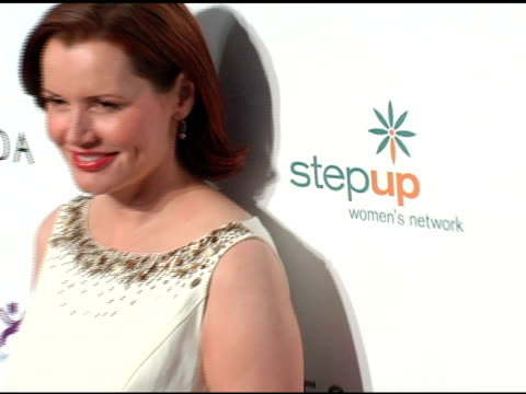 geena davis at the step up women's network inspiration awards sponsored by escada at the beverly hilton in beverly hills, california on april 27,... - escada stock videos & royalty-free footage