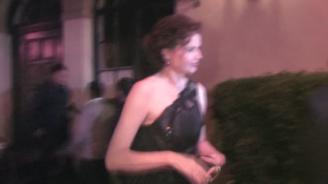 geena davis at virgin unite's 5th annual rock the kasbah event in hollywood on - ジーナ デイヴィス点の映像素材/bロール