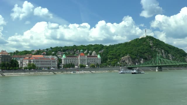 gellert hill - budapest, hungary - traditionally hungarian stock videos & royalty-free footage