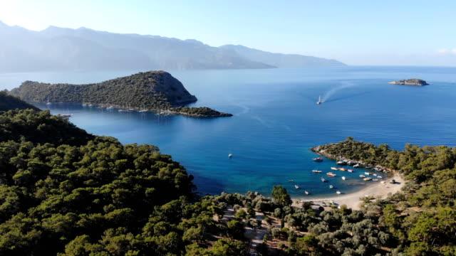 Gemile bay from Oludeniz. Fethiye / Turkey.