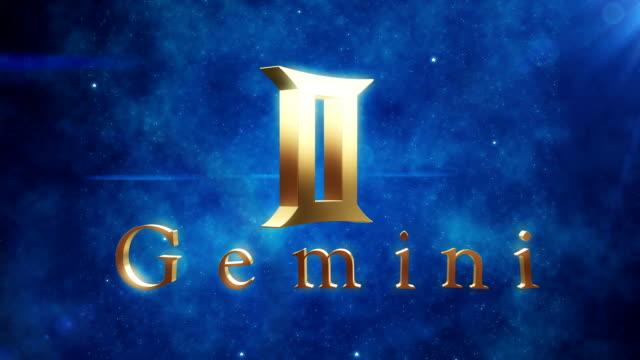 gemini (zodiac air signs) | loopable - cancer astrology sign stock videos and b-roll footage
