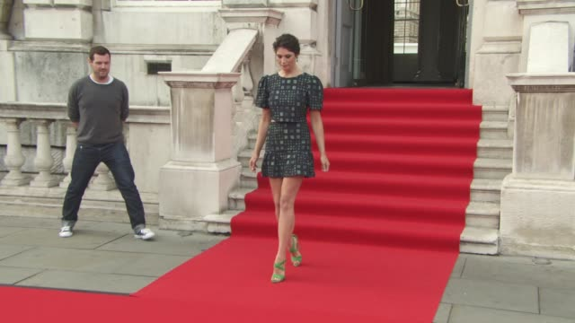 Gemma Arterton at 'Gemma Bovary' UK film premiere at Somerset House on August 06 2015 in London England