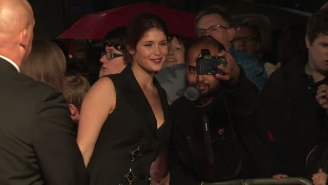 Gemma Arterton at Song For Marion Premiere 56th BFI London Film Festival at Odeon West End on October 19 2012 in London England