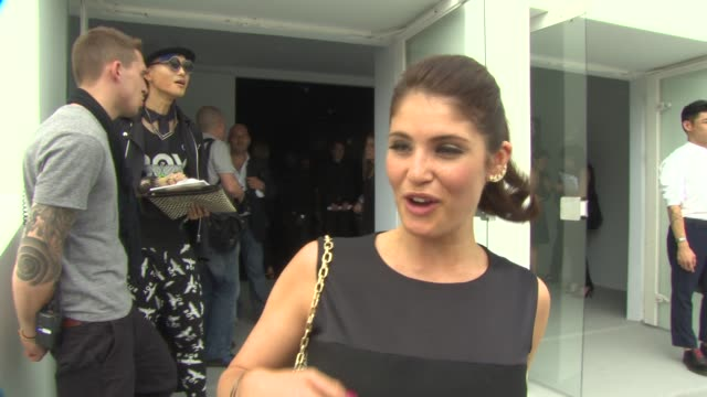 INTERVIEW Gemma Arterton on her thoughts on the on July 01 2013 in Paris France