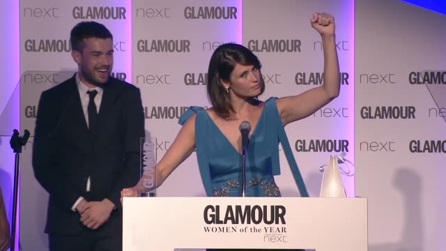 INTERVIEW Gemma Arterton on winning best Theatre actress at Women of the Year Awards UK on June 07 2016 in London England