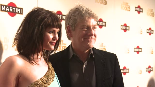 Gemma Arterton Sir Kenneth Branagh at the The Boat That Rocked MARTINI Premiere Party at London