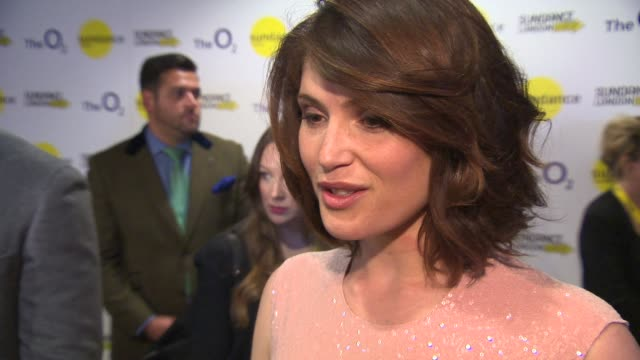 INTERVIEW Gemma Arterton talks about getting the part her cat and working with female directors at Sundance London 'The Voices' international...
