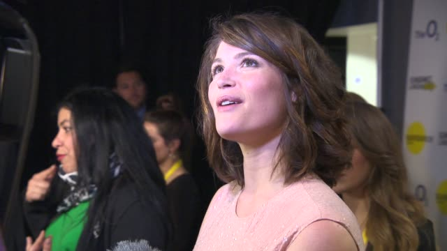 INTERVIEW Gemma Arterton talks about her darkest moments and filming in Berlin at Sundance London 'The Voices' international premiere at Cineworld 02...