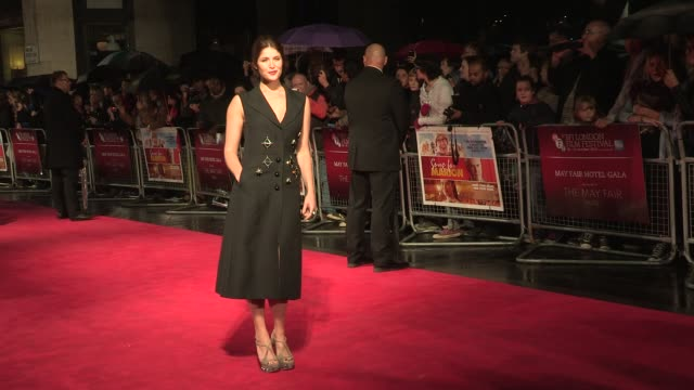 Gemma Arterton Terrance Stamp at Song For Marion Premiere 56th BFI London Film Festival at Odeon West End on October 19 2012 in London England