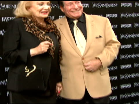 gena rowlands and guest at the 'paris je t'aime' premiere at paris theater in new york new york on may 1 2007 - paris theater manhattan stock videos and b-roll footage