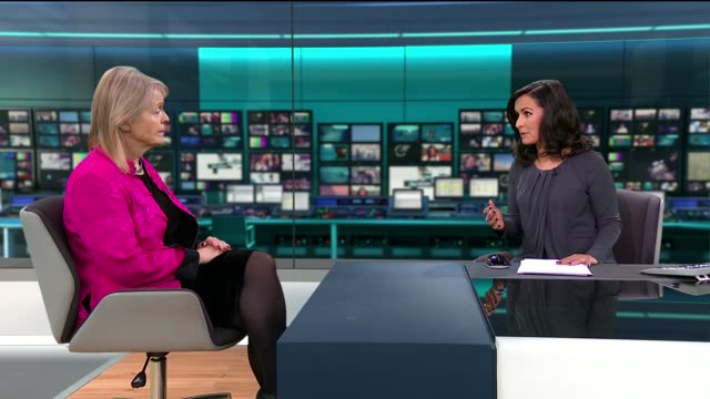 BBC China editor Carrie Gracie resigns over pay inequality ENGLAND London GIR INT Kate Kinninmont STUDIO interview SOT