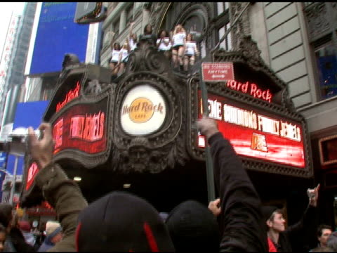 gene simmons and 25 female models create world's first 'assvertising' campaign, new york, ny: 3/22/07 in hollywood, california on march 23, 2007. - gene simmons stock videos & royalty-free footage