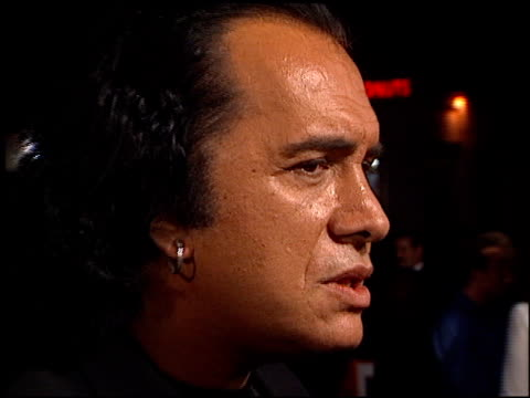 gene simmons at the 'from hell' premiere on october 17, 2001. - gene simmons stock videos & royalty-free footage