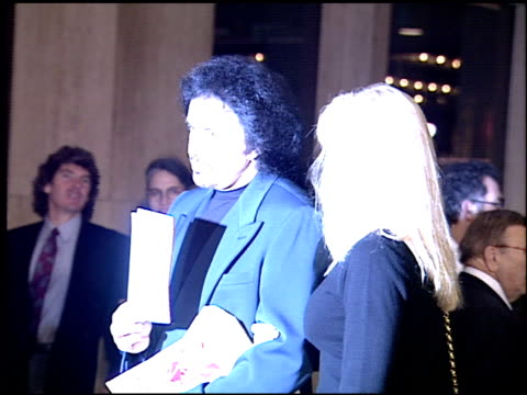 gene simmons at the 'schindler's list' premiere on december 9, 1993. - gene simmons stock videos & royalty-free footage