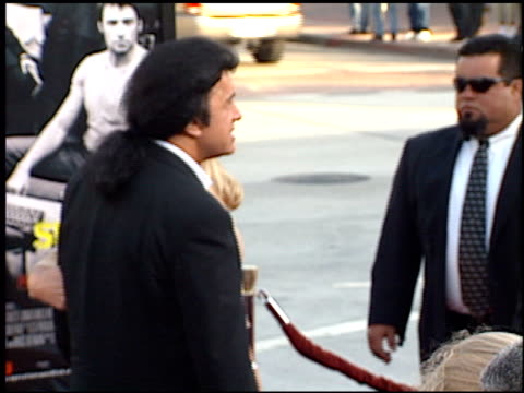 gene simmons at the 'swordfish' premiere on june 4, 2001. - gene simmons stock videos & royalty-free footage