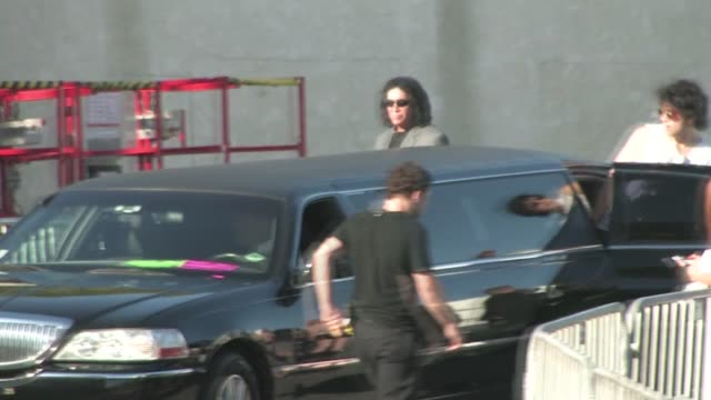 Gene Simmons Nick Simmons leaving the 2011 Do Something Awards in Hollywood