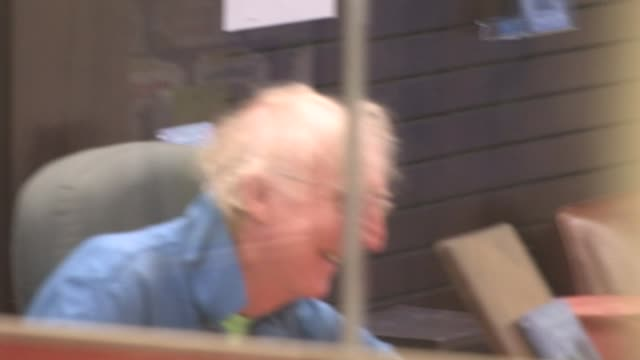 gene wilder in barnes noble at grove in west hollywood at the celebrity sightings in los angeles at los angeles ca - gene wilder stock videos and b-roll footage