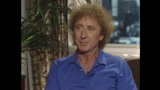 the best thing that you do in lifefor me as a joke i would say it's making cappuccino i impress everyone by making cappuccino and all the girls by... - gene wilder stock videos and b-roll footage