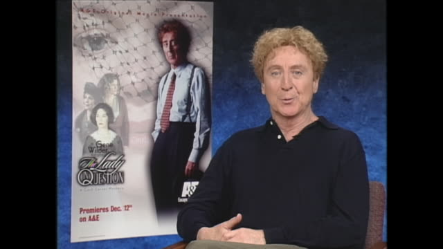 well working with mel brooks and madeline and dom deluise and cloris leachman and teri garr kenny mars peter boyle it was a family so there was never... - gene wilder stock videos and b-roll footage