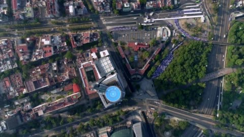general aerial view from mexico city - air to air shot stock videos & royalty-free footage