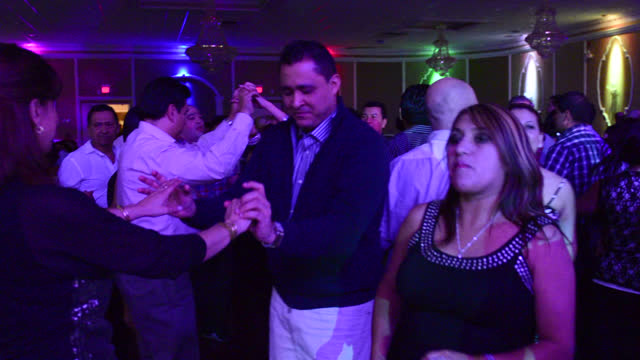 general ambiance and atmosphere in the mirage banquet hall before the appearance of el gran combo de puerto rico on march 29 in toronto, ontario,... - banquet hall stock videos & royalty-free footage