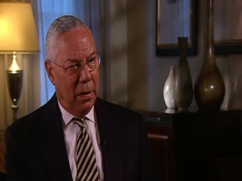 general colin powell us secretary of state 20012005 on demographic changes in iran which may force political change - population explosion stock videos & royalty-free footage