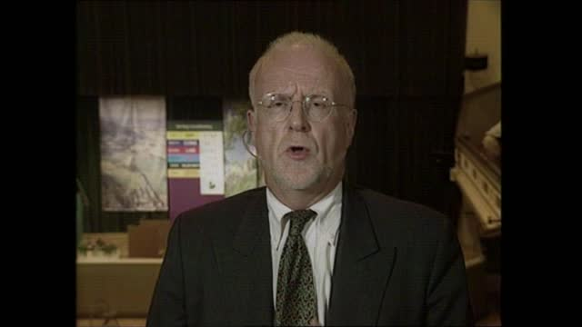 general election 1997: special: 02.00 - 03.00:; england: london: gir: int studio jonathan dimbleby studio david butler scotland: stirling: david rose... - david dimbleby stock videos & royalty-free footage