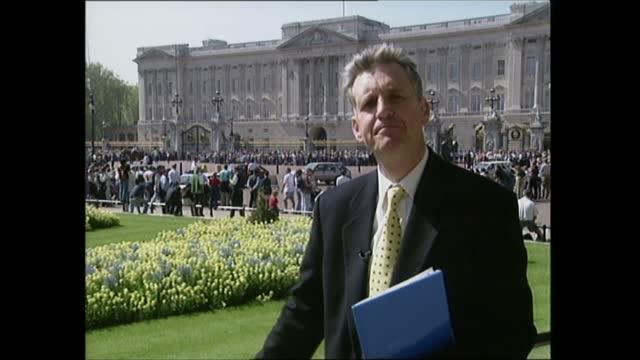 general election 1997: special: 11.00 - 12.00:; 11.00 - 12.00 england: london: gir: int studio dermot murnaghan studio jonathan dimbleby downing... - dermot murnaghan stock videos & royalty-free footage