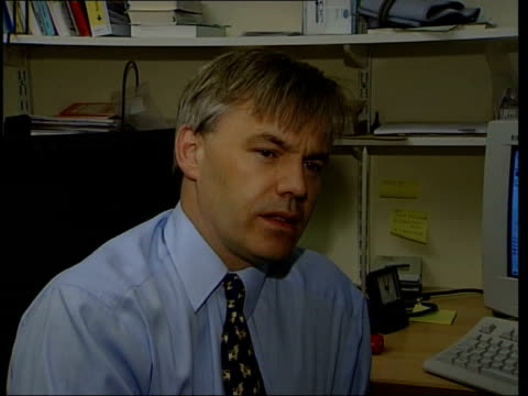 Health Doctors threat ITN ENGLAND London Dr Sam Everington talking to patient in surgery Dr Sam Everington interview SOT Talks of the pressures...