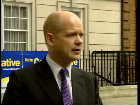 Health Doctors threat ITN London Smith Square William Hague towards to press William Hague speaking to press SOT what we're seeing today with the...