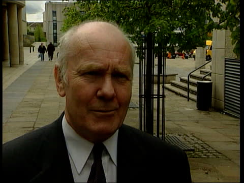 SNP manifesto launch John Reid calling out numbers in bingo hall EXT John Reid interview SOT Only two things that are certain are that it would break...