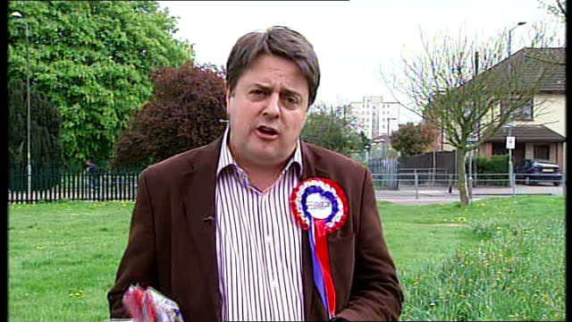 bnp nick griffin interview england london int nick griffin 2 way interview sot right to discriminate should be left to the individual not the state... - national front stock videos & royalty-free footage